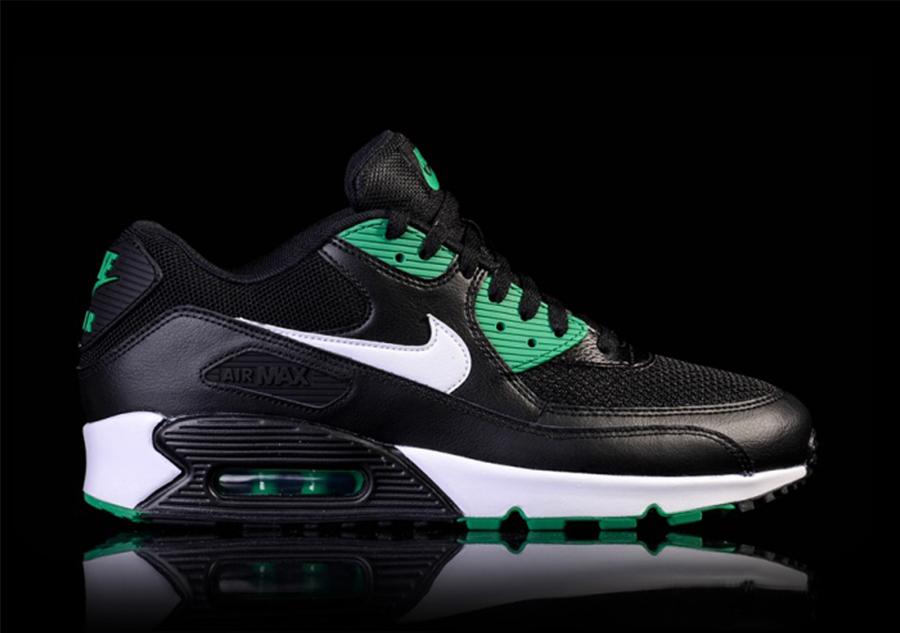 Nike Air Max 90 Essential Black White Lucid Green
