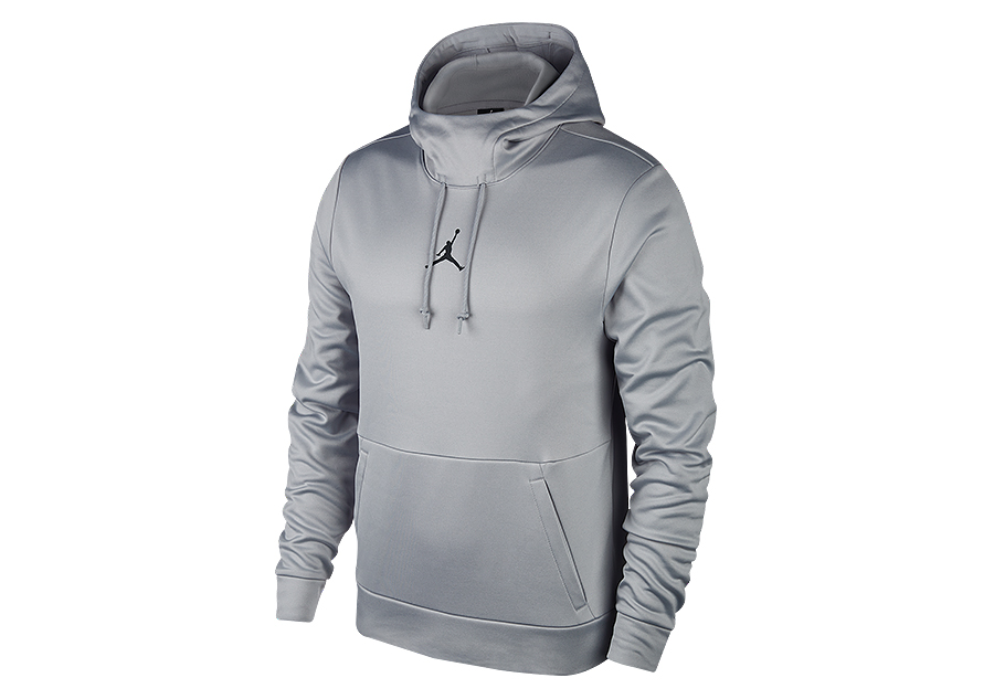 7b2d83f90e75 NIKE AIR JORDAN THERMA 23 ALPHA PULLOVER HOODIE WOLF GREY price €52.50