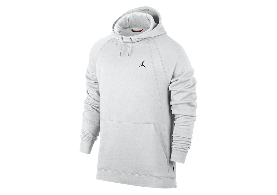 NIKE AIR JORDAN WINGS FLEECE PULLOVER HOODIE SUMMIT WHITE price €82.50 |  Basketzone.net