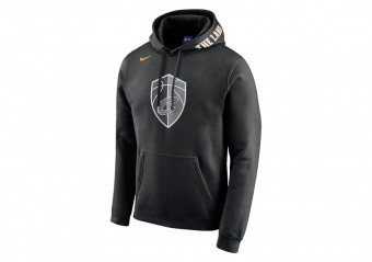 NIKE NBA CLEVELAND CAVALIERS CITY EDITION HOODIE BLACK
