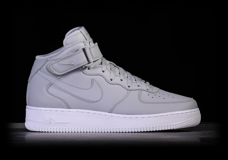 sports shoes 9eacb a7ba6 NIKE AIR FORCE 1 MID  07 WOLF GREY