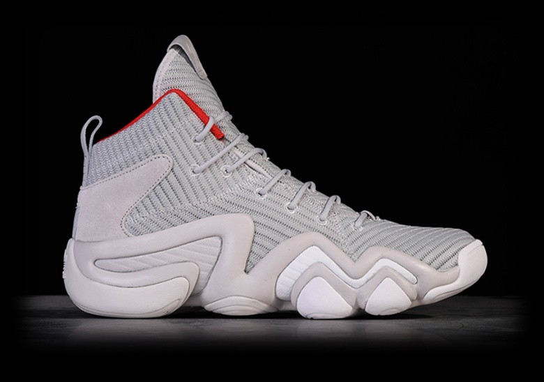 ADIDAS ORIGINALS CRAZY 8 ADV LIGHT GREY