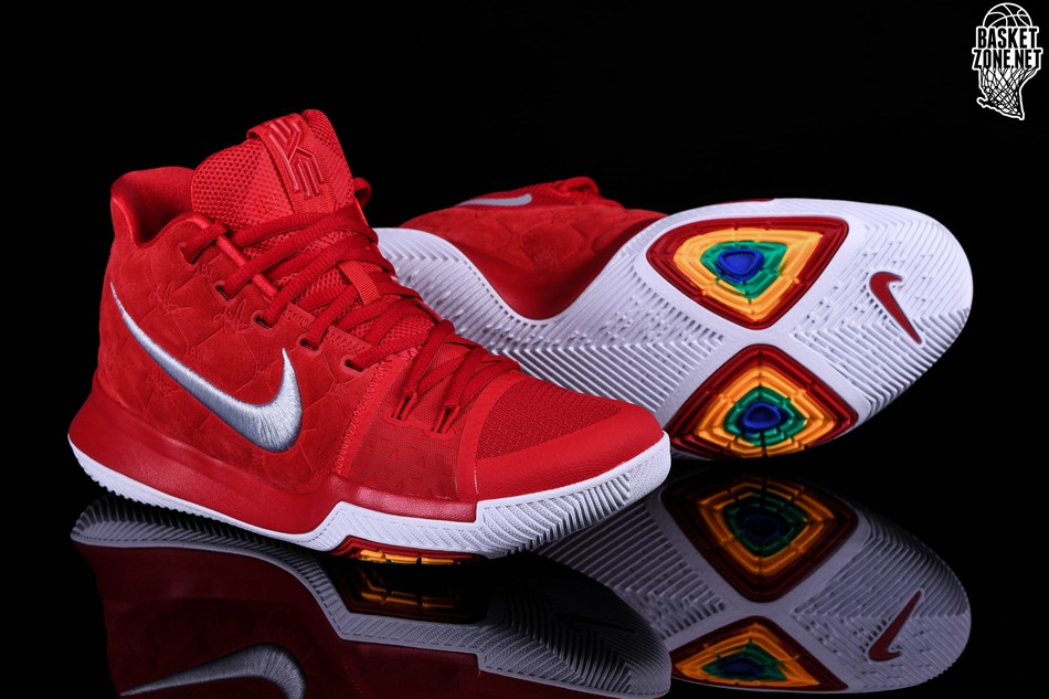 new style bf3b5 879b3 NIKE KYRIE 3 RED SUEDE