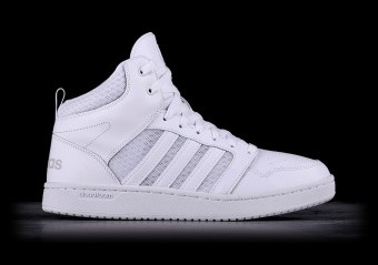ADIDAS CLOUDFOAM SUPER HOOPS MID WHITE