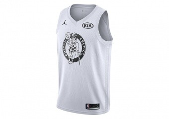 NIKE AIR JORDAN NBA KYRIE IRVING ALL-STAR 2018 SWINGMAN JERSEY WHITE
