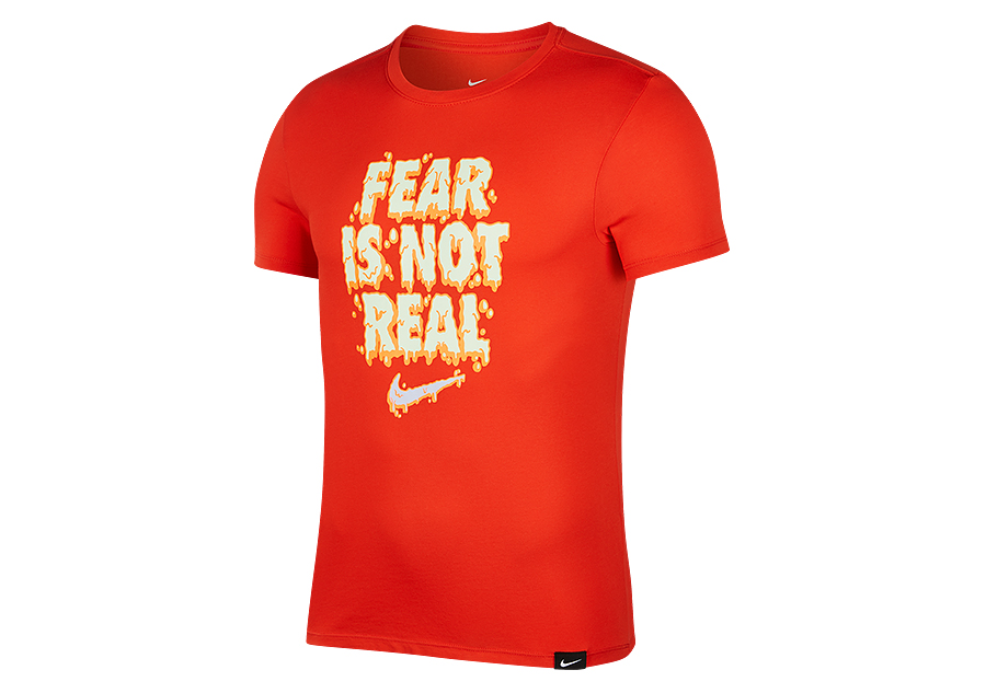 2e7654c6 NIKE KYRIE IRVING FEAR IS NOT REAL DRY TEE HABANERO RED price €32.50 |  Basketzone.net