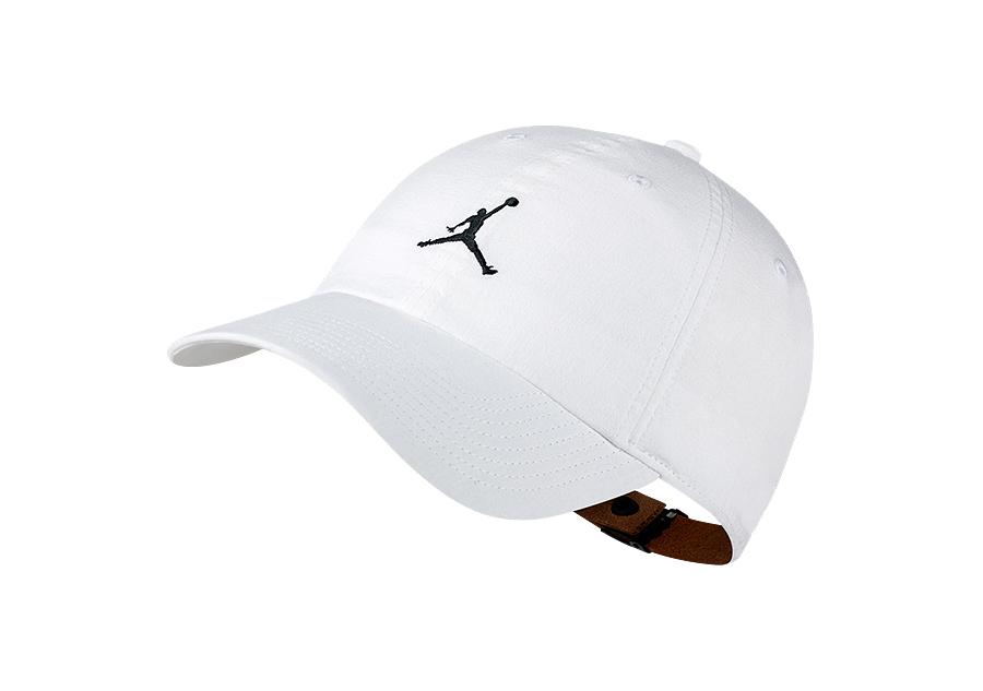 NIKE AIR JORDAN HERITAGE H86 JUMPMAN WASHED HAT WHITE