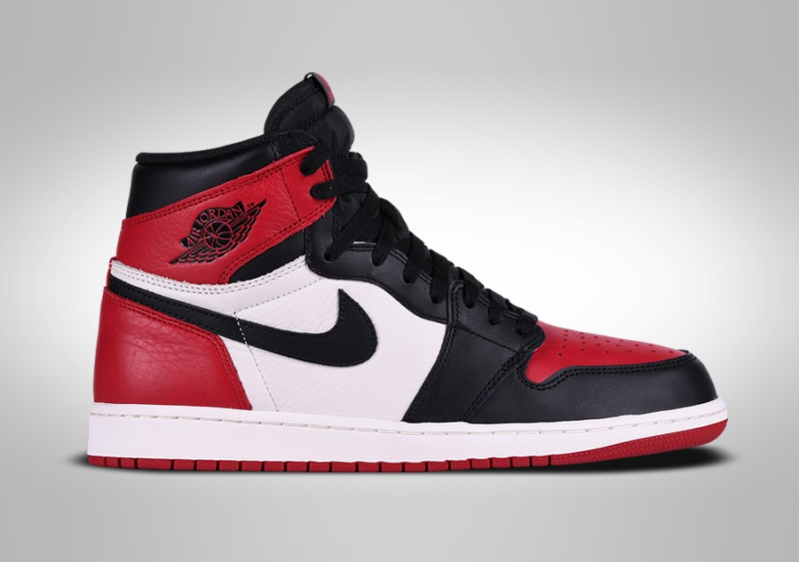NIKE AIR JORDAN 1 RETRO HIGH OG BRED TOE price €302.50  7baf00167b