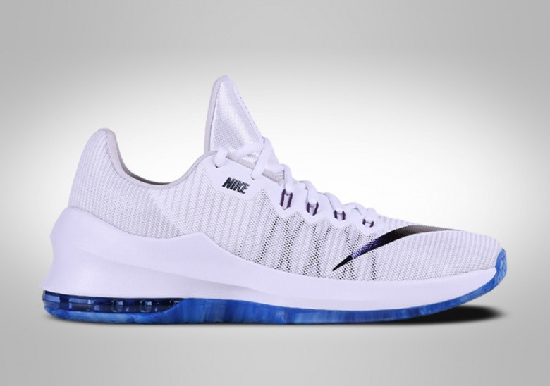 NIKE AIR MAX INFURIATE 2 LOW PREMIUM WHITE PURPLE