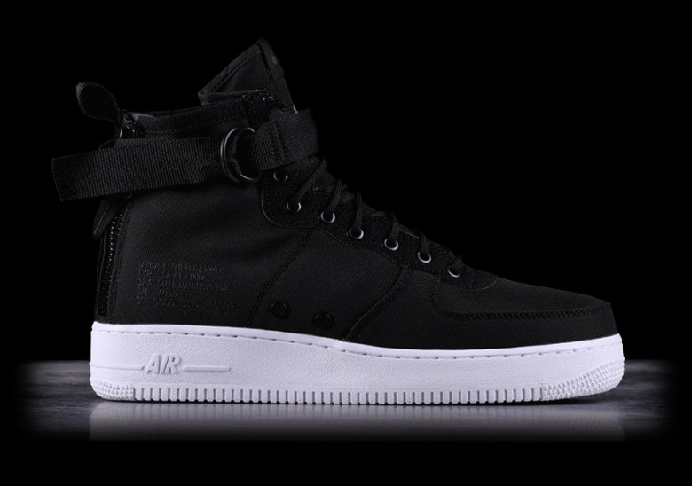 competitive price 0aeef 9f4d9 NIKE SF AIR FORCE 1 MID BLACK