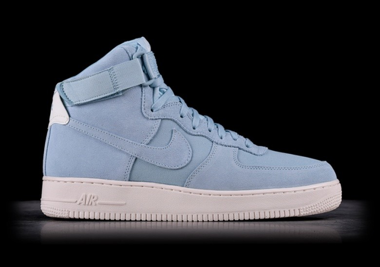 premium selection feecc 81565 NIKE AIR FORCE 1 HIGH  07 SUEDE OCEAN BLISS