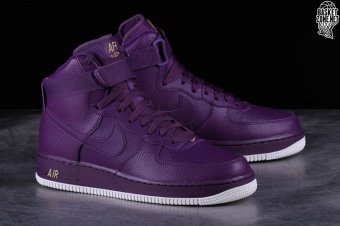 temperament shoes best sell buy popular NIKE AIR FORCE 1 HIGH '07 NIGHT PURPLE price €102.50 ...
