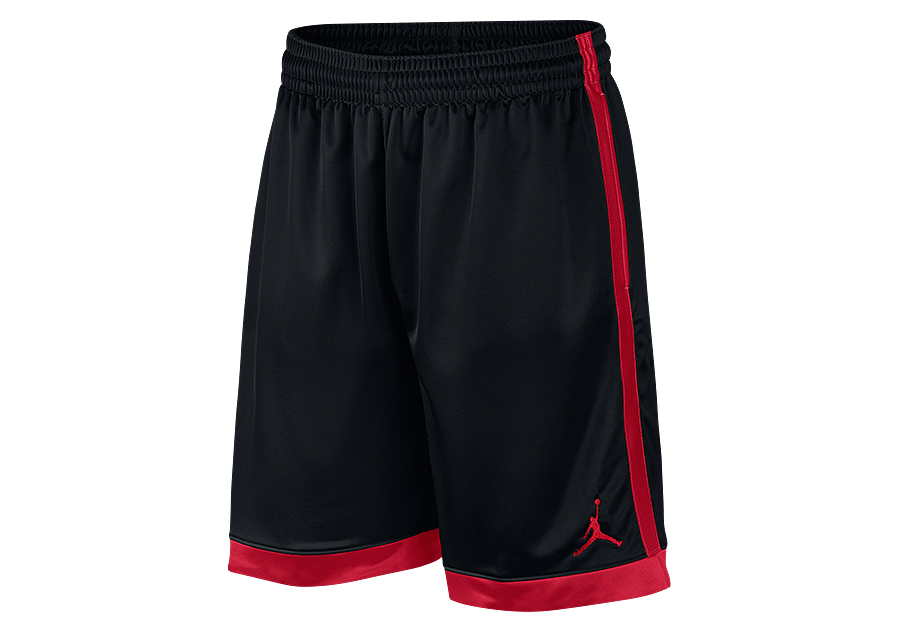 08335e6a5cd3 NIKE AIR JORDAN FRANCHISE SHIMMER SHORTS BLACK GYM RED price €32.50 ...