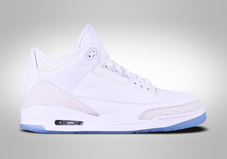 NIKE AIR JORDAN 3 RETRO PURE WHITE