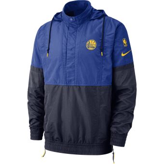 NIKE NBA GOLDEN STATE WARRIORS COURTSIDE JACKET COURTSIDE