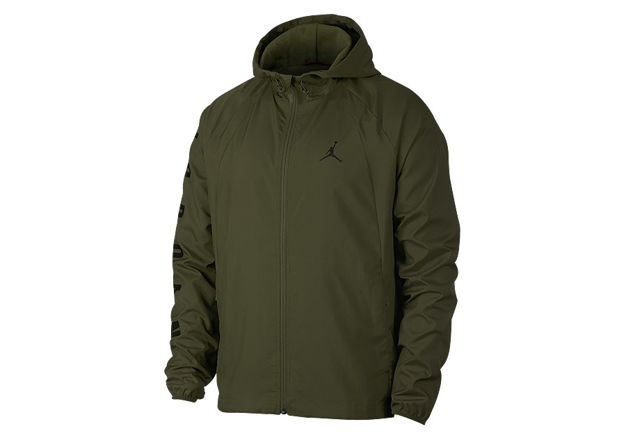 3032df34c854bf NIKE AIR JORDAN SPORTSWEAR WINGS WINDBREAKER JACKET OLIVE CANVAS per ...