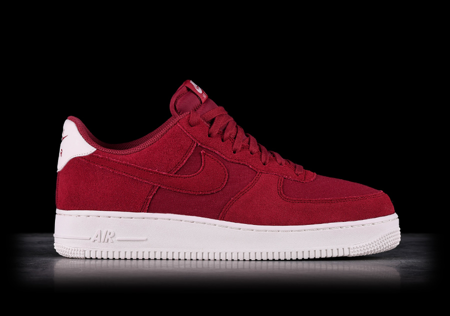35f74e023f63 NIKE AIR FORCE 1  07 SUEDE RED CRUSH price €102.50