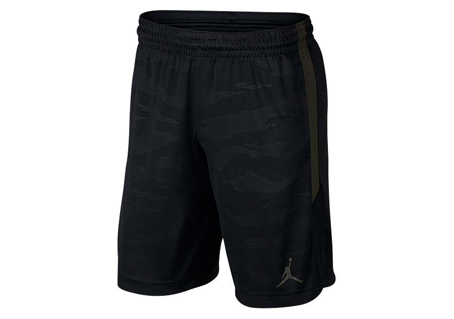 755df4c6d258 NIKE AIR JORDAN 23 ALPHA DRY KNIT PRINT SHORTS BLACK price €32.50 ...