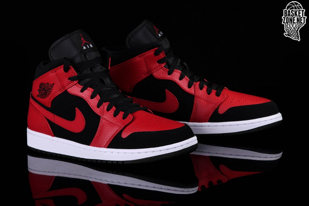 separation shoes 2b017 2686d NIKE AIR JORDAN 1 RETRO MID BRED