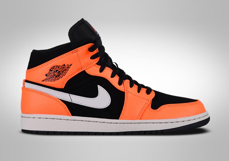 nike air jordan orange 38