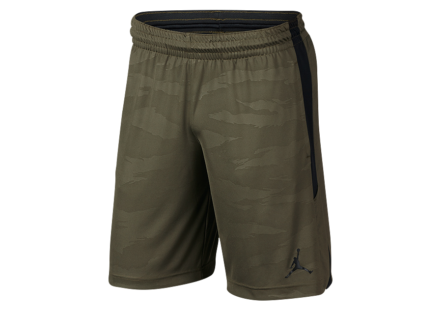 hot sale great quality outlet NIKE AIR JORDAN 23 ALPHA DRY KNIT PRINT SHORTS OLIVE CANVAS ...