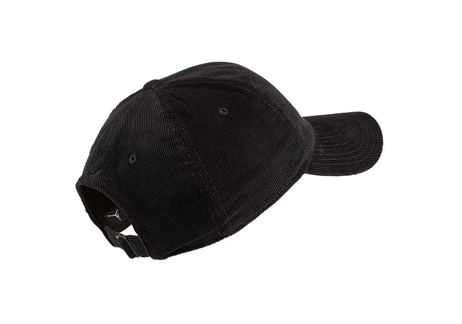 619d0183934 NIKE AIR JORDAN H86 CORDUROY CAP BLACK price £25.00