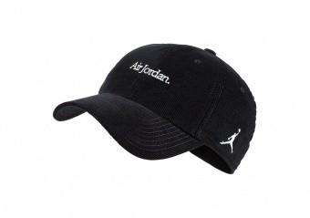 NIKE AIR JORDAN H86 CORDUROY CAP BLACK