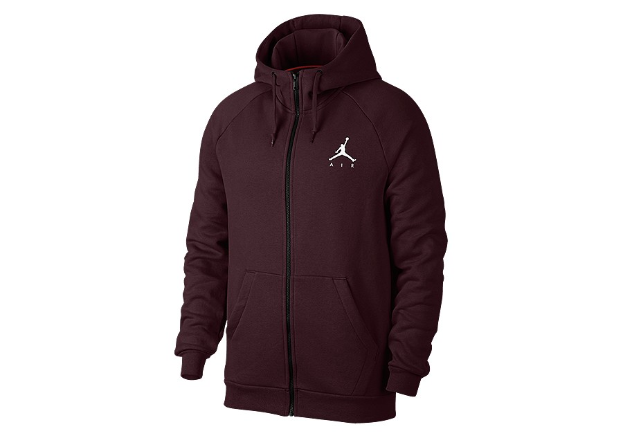1ce20c88ad8 NIKE AIR JORDAN JUMPMAN FLEECE HOODIE BURGUNDY CRUSH price €72.50 ...
