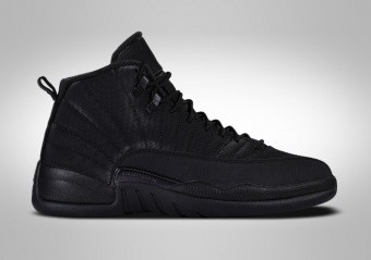 NIKE AIR JORDAN 12 RETRO WINTERIZED BLACK