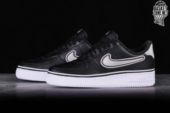 info for e09c8 71589 NIKE AIR FORCE 1  07 LV8 NBA SPORT PACK BLACK EDITION