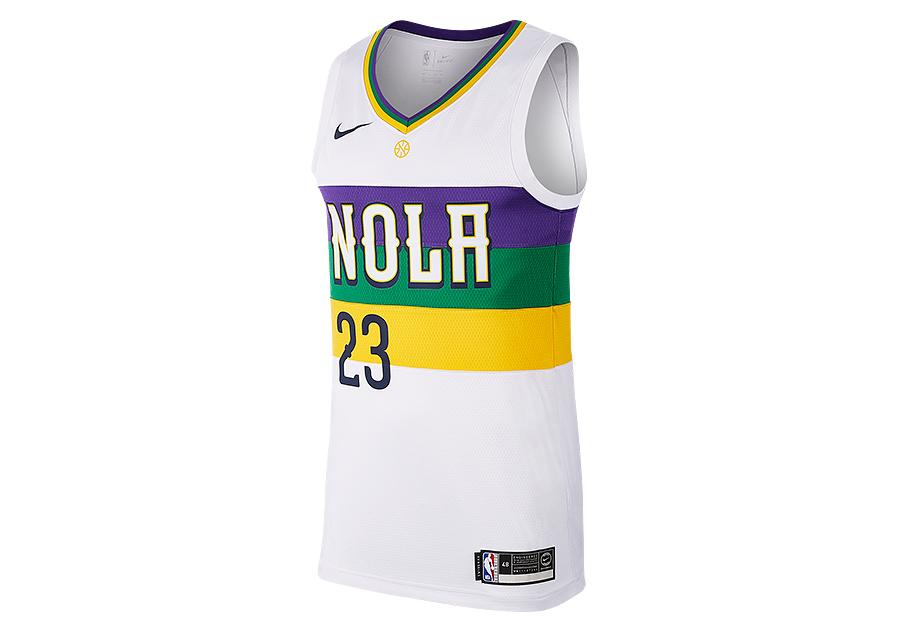 8f8caddaae04 NIKE NBA NEW ORLEANS PELICANS ANTHONY DAVIS SWINGMAN JERSEY WHITE price  €87.50