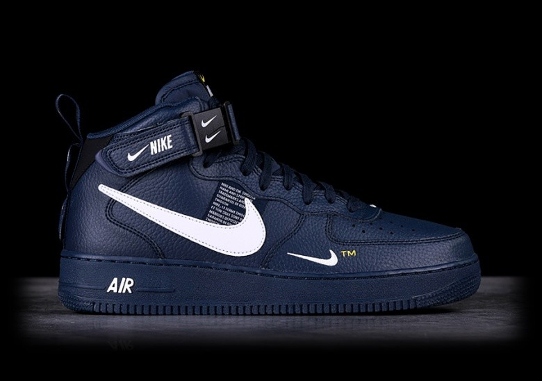 best loved 9bf62 60be8 NIKE AIR FORCE 1 MID  07 LV8 OBSIDIAN