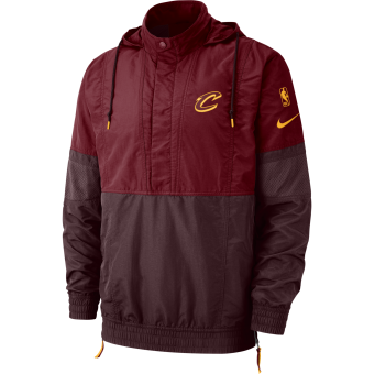 NIKE NBA CLEVELAND CAVALIERS COURTSIDE JACKET