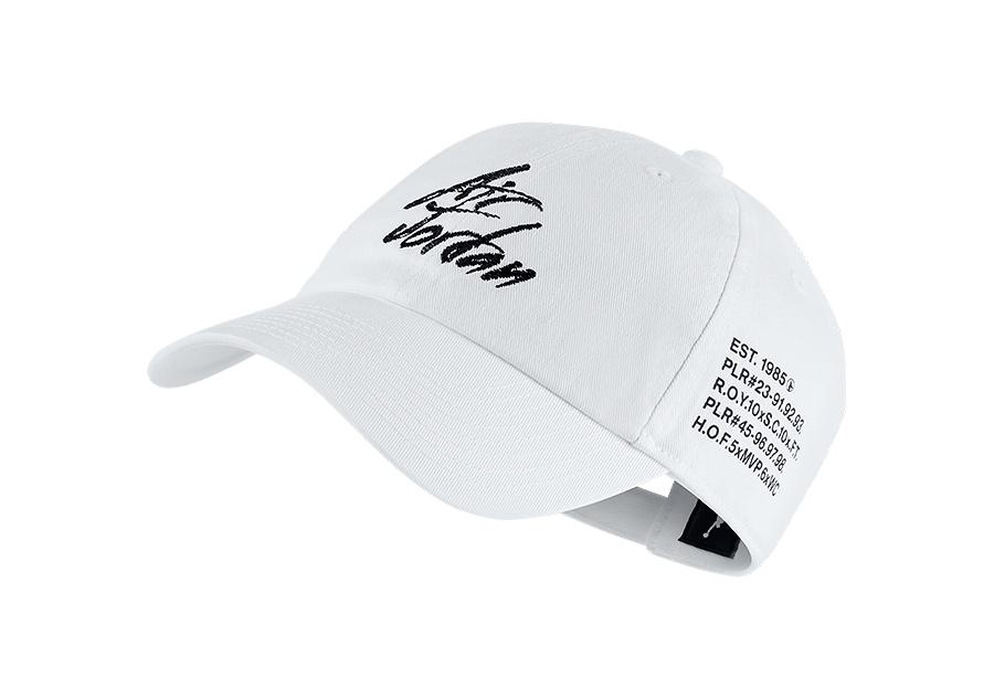 9930e6a5ed3 NIKE AIR JORDAN HERITAGE86 SCRIPT CAP WHITE price €32.50 ...