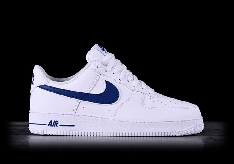 f61f3326a NIKE AIR FORCE 1 '07 3 WHITE/DEEP ROYAL price €97.50 | Basketzone.net