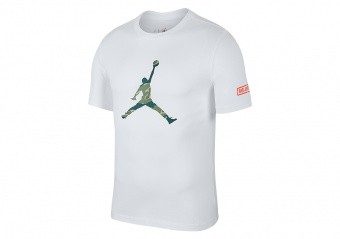 meet 86ff0 101b9 NIKE AIR JORDAN ALL STAR WEEKEND 2019 CITY OF FLIGHT 2 TEE WHITE