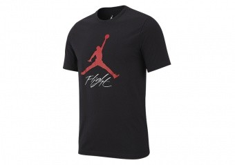 NIKE AIR JORDAN JUMPMAN FLIGHT HBR TEE BLACK