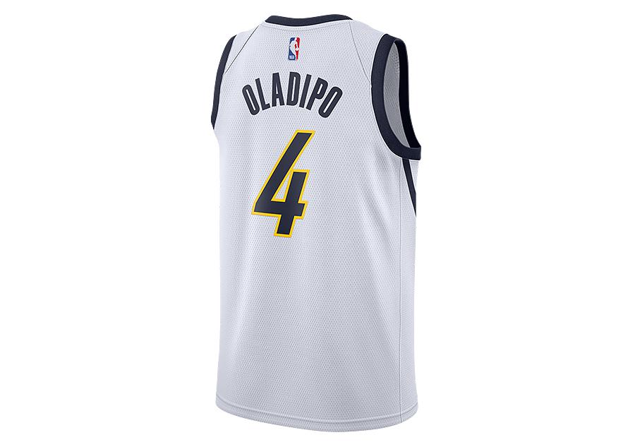 951dcdb3101 NIKE NBA INDIANA PACERS VICTOR OLADIPO SWINGMAN CITY EDITION WHITE ...