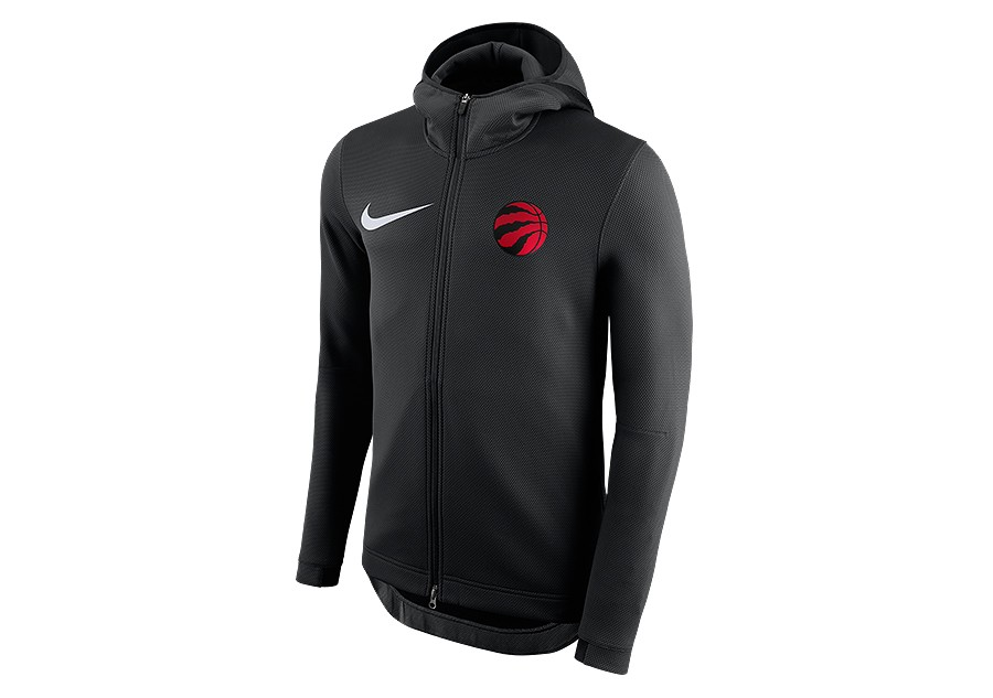 online store c537a 417a1 NIKE NBA TORONTO RAPTORS THERMA FLEX SHOWTIME HOODIE BLACK ...