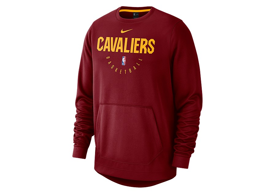 80053522 NIKE NBA CLEVELAND CAVALIERS SPOTLIGHT CREW HOODIE TEAM RED price ...