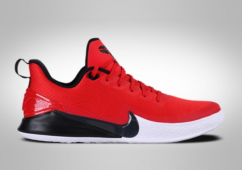 NIKE KOBE MAMBA FOCUS UNIVERSITY RED