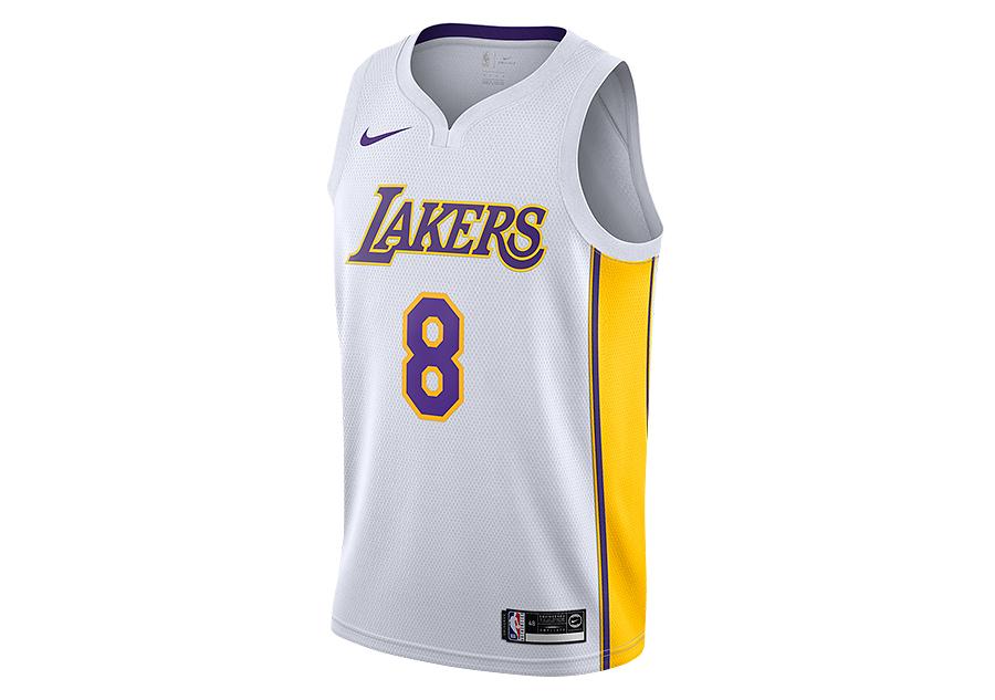 a1509a50eb05 NIKE NBA LOS ANGELES LAKERS KOBE BRYANT SWINGMAN HOME JERSEY WHITE price  €92.50