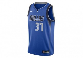 NIKE NBA DALLAS MAVERICKS KOSTAS ANTETOKOUNMPO SWINGMAN ROAD JERSEY GAME ROYAL