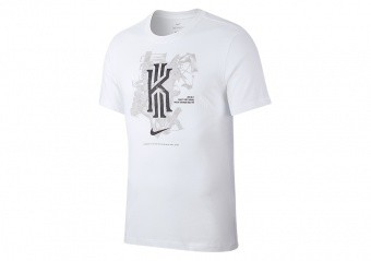 NIKE KYRIE IRVING ARTIST DRI-FIT TEE WHITE