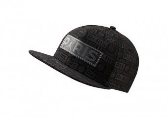 NIKE AIR JORDAN PSG PARIS SAINT-GERMAIN PRO CAP SNAPBACK BLACK