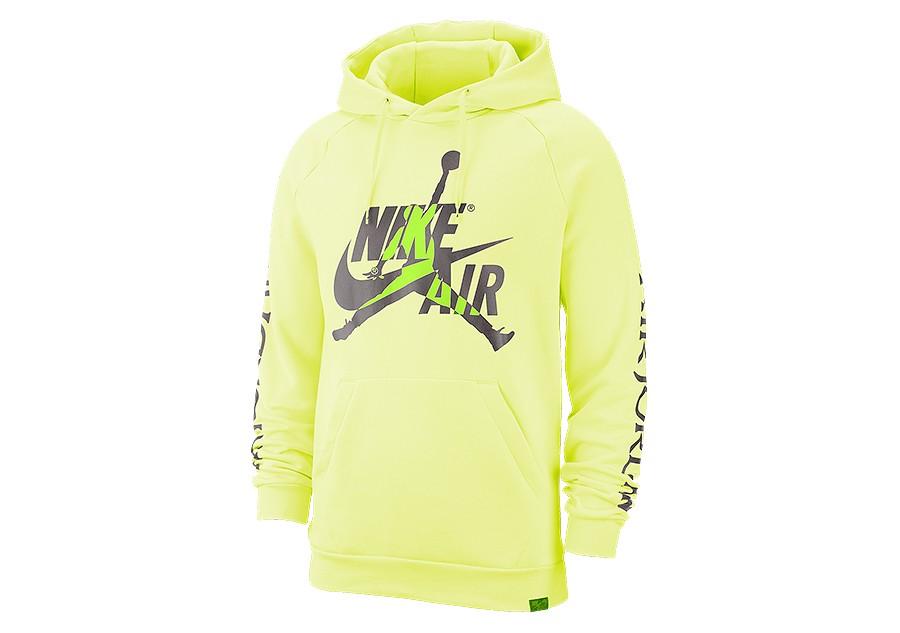 Bluzy sportowe Nike Air Men's Fleece Pullover Hoodie L Blue