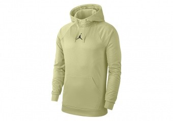 NIKE AIR JORDAN THERMA 23 ALPHA PULLOVER HOODIE WOLF GREY