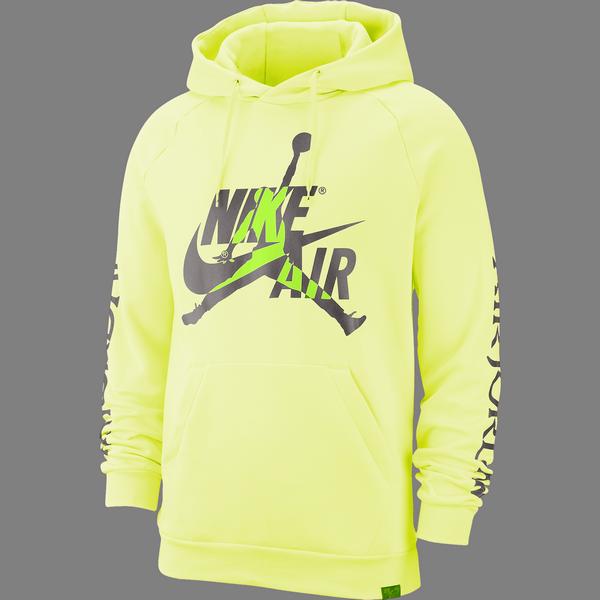 nike hoodie gelb
