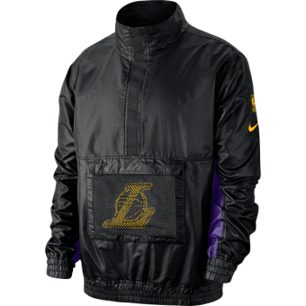 NIKE NBA LOS ANGELES LAKERS LIGHTWEIGHT COURTSIDE JACKET