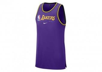 NIKE NBA LOS ANGELES LAKERS Dri-FIT TANK FIELD PURPLE